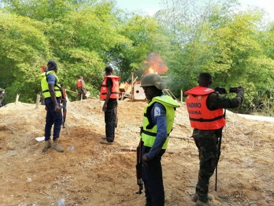 Galamsey fight: 400 soldiers deployed to 'remove' illegal miners on Pra tributaries